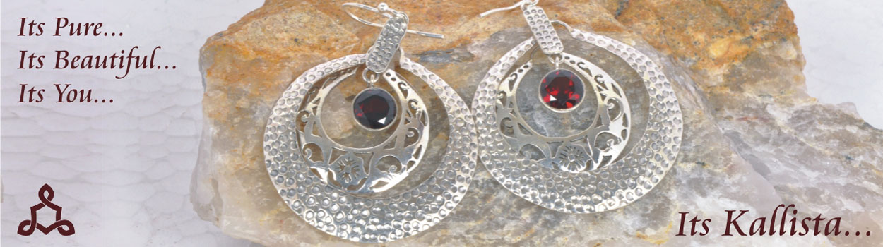 Customised silver jewellery